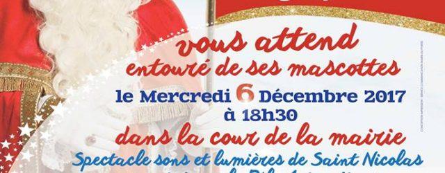 Saint Nicolas vous donne rendez-vous le mercredi 6 décembre à 18h30, cour de la mairie pour un spectacle son et lumières en compagnie de ses mascottes : Sam le […]